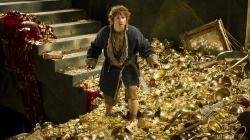 Martin Freeman as Bilbo Baggins in The Hobbit: The Desolation of Smaug.