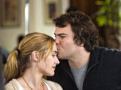 Kate Winslet and Jack Black in The Holiday.