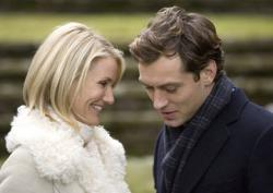 Cameron Diaz and Jude Law in The Holiday.