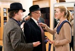 Jack Black, Eli Wallach and Kate Winslet in The Holiday.