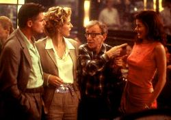 Treat Williams, Tea Leoni, Woody Allen and Debra Messing