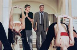 Josh Hartnett and Harrison Ford in Hollywood Homicide.