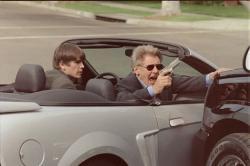 Josh Hartnett and Harrison Ford in Hollywood Homicide.