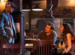 Jason Statham, James Franco and Wynona Ryder in Homefront