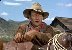 John Wayne in Hondo.