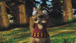 Twitchy the Squirrel in Hoodwinked.