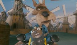 The always reliable voice work of Patrick Warburton as the Wolf is one of the few highlights of Hoodwinked Too! Hood vs. Evil.