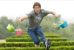 James Marsden training in Hop.