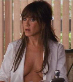 Jennifer Aniston plays against type in Horrible Bosses.