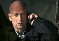 Bruce Willis in Hostage.