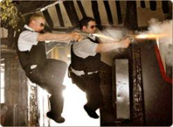 If Michael Bay directed an episode of The Vicar of Dibley, it might end up something like this.