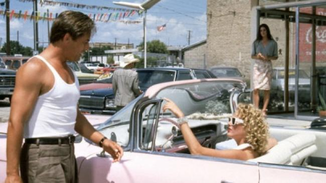 Don Johnson, Virginia Madsen and Jennifer Connelly in The Hot Spot.
