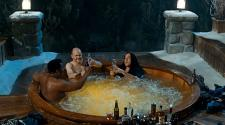 Three depressed, drunk, naked middle aged guys.  How much better can a movie get?
