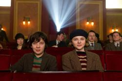 Asa Butterfield and Chloe Grace Moretz experience the magic of the movies in Hugo.