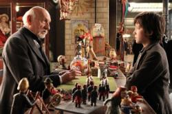 Ben Kingsley and Asa Butterfield in Hugo.