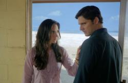 Jennifer Connelly and Eric Bana in The Hulk.