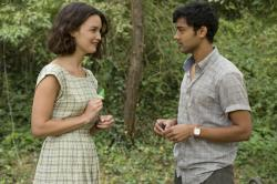 Charlotte Le Bon and Manish Dayal in The Hundred Foot Journey