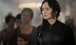 Jennifer Lawrence in The Hunger Games: Mockingjay - Part 1