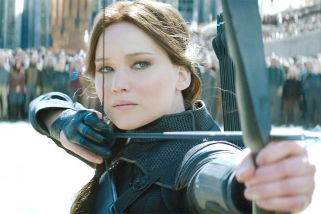 Jennifer Lawrence in The Hunger Games: Mockingjay - Part 2