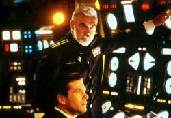 Sean Connery and Alec Baldwin in The Hunt for Red October