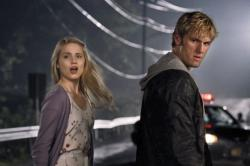 Dianna Agron and Alex Pettyfer in I Am Number Four.