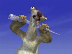 Sid from Ice Age.