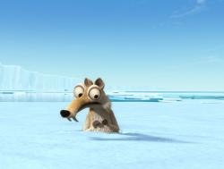 Scrat from Ice Age 2: The Meltdown.