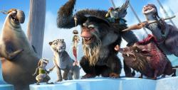 The villains in Ice Age: Continental Drift.