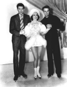 Jimmy Stewart, Joan Crawford and Lew Ayres.