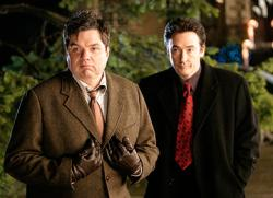 Oliver Platt and John Cusack in The Ice Harvest.