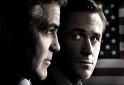 George Clooney and Ryan Gosling in The Ides of March.