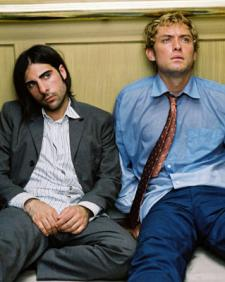 Jason Schwartzman and Jude Law in I Heart Huckabees