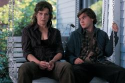 Sigourney Weaver and Emile Hirsch in Imaginary Heroes.