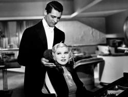 Cary Grant and Mae West in I'm No Angel.