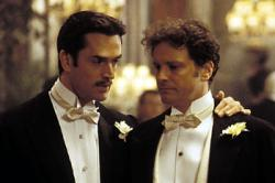 Rupert Everett and Colin Firth in The Importance of Being Earnest.