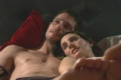 Gonzalo Valenzuela and Blanca Lewin In Bed.