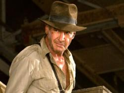Harrison Ford in Indiana Jones and the Kingdom of the Crystal Skull.