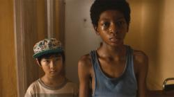 Ethan Dizon and Skylan Brooks in The Inevitable Defeat of Mister and Pete.