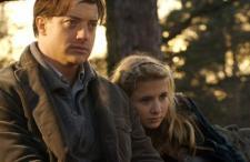 Brendan Fraser and newcomer Eliza Bennett in Inkheart.