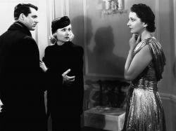 Cary Grant, Carole Lombard and Kay Francis in In Name Only.