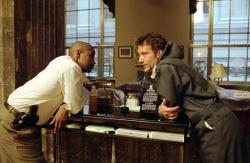 Denzel Washington and Clive Owen in Inside Man.