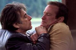 Al Pacino and Robin Williams in Insomnia.