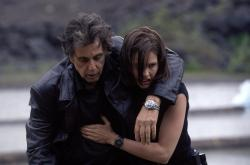 Al Pacino and Hilary Swank in Insomnia.