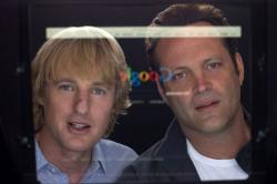 Vince Vaughn and Owen Wilson in The Internship.