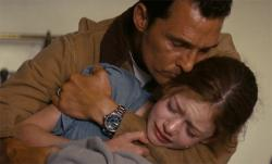 Matthew McConaughey and Mackenzie Foy in Interstellar.