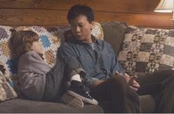 Sebastian Banes and Patrick Wang in In the Family