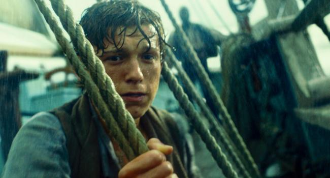 Tom Holland in In the Heart of the Sea.