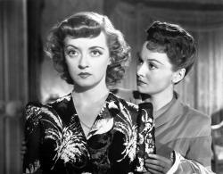 Bette Davis and Olivia de Havilland in In This Our Life.