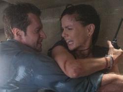 Richard Armitage and Sarah Wayne Callies go Into the Storm.