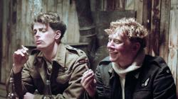 Lachlan Nieboer and Rupert Grint in Into the White